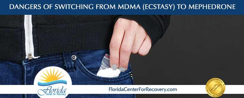Dangers of Switching from MDMA (Ecstasy) to Mephedrone