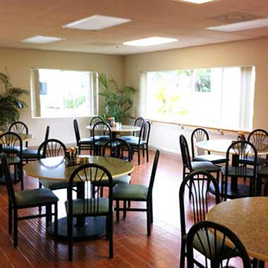 Addiction Treatment Center Dining Hall