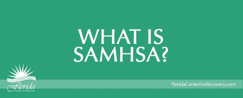 What is SAMHSA?