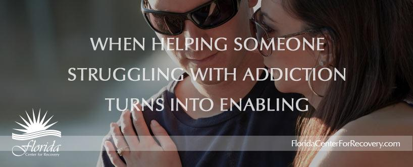 When Helping an Addict Turns Into Enabling