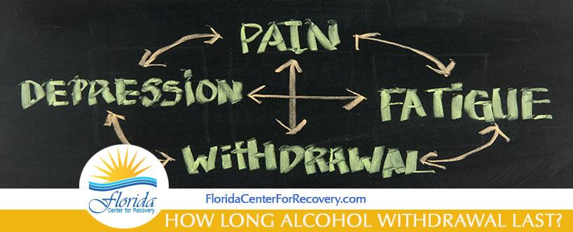 How Long Alcohol Withdrawal Last