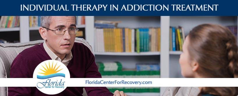 Individual Therapy in Addiction Treatment