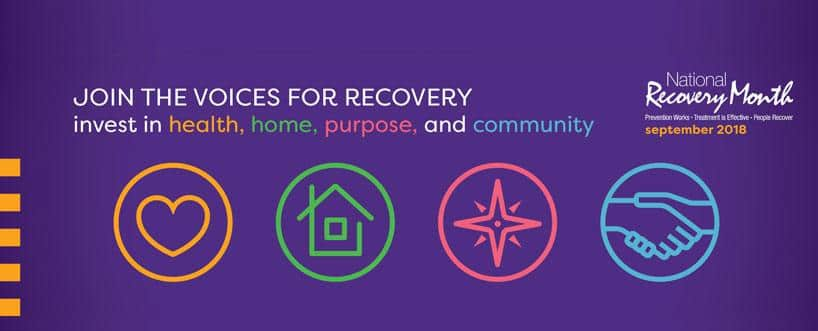 It's September. It's National Recovery Month