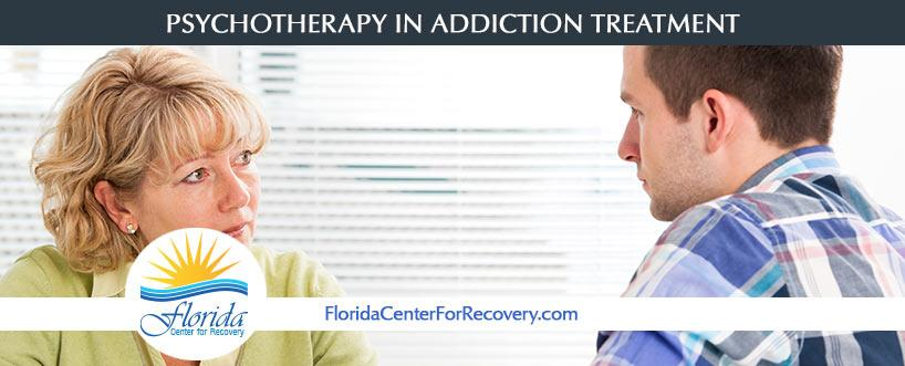 Psychotherapy in Addiction Treatment