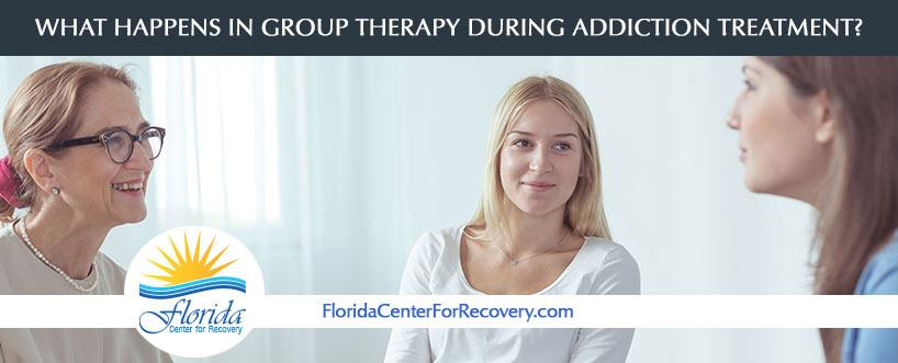 What Happens In Group Therapy During Addiction Treatment?