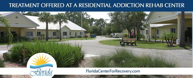 Treatment Offered at a Residential Drug and Alcohol Rehab Center