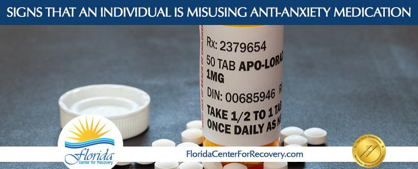 Signs That You're Misusing Anti-Anxiety Medication