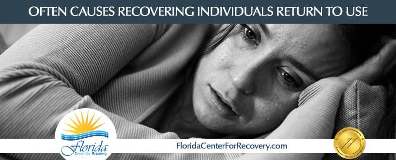 Often Causes Recovering Individuals Return to Use
