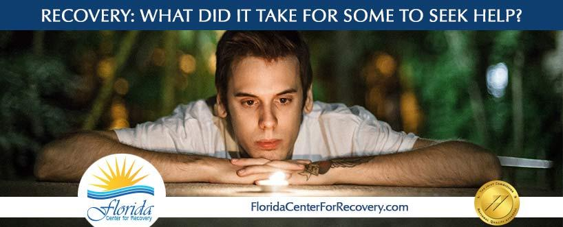 What Did It Take for Some People in Recovery to Seek Help?