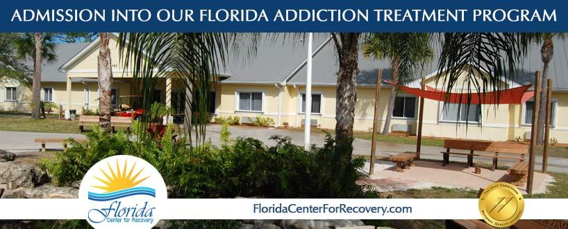Admission Into Our Florida Addiction Treatment Program
