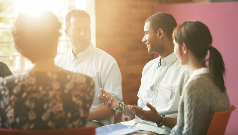 Group therapy sessions are led by one or more psychologists with specialized training