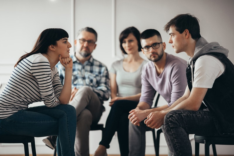 The purpose of DBT is to provide individuals with the tools they need to regulate their negative thoughts and emotions so that they don't start abusing substances to cope.